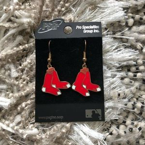 Red Sox Earrings